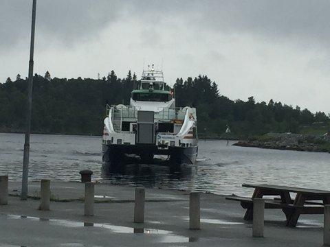 Rogaland er, saman med Nordland og Hordaland, dei fylka som bruker mest hurtigbåtar. I statsbudsjettet for neste år blir det lagt opp til at Rogaland sitt tilskot skal reduserast til 80 millionar. (Illustrasjonsfoto)