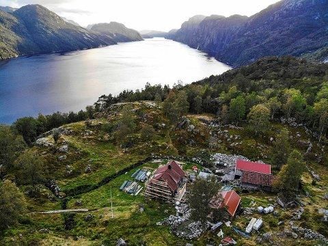 NYRENOVERT FJELLGÅRD: Stavanger Turistforening tror Bakken gard blir den store hyttevinneren i år.