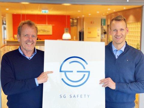 SATSER PÅ TAU: Geir Magne Årvik og sønnen Stian Årvik har startet selskapet SG Safety som skal produsere verneutstyr. Stian er daglig leder i selskapet.