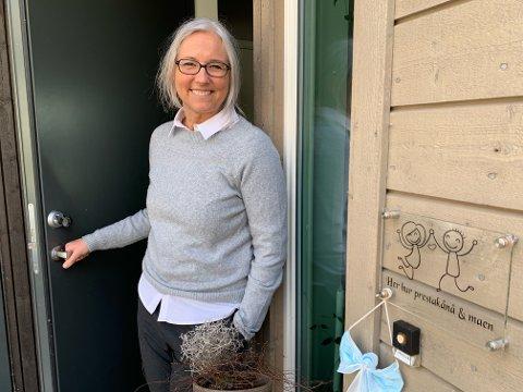SLUTTAR: Mette Boye sluttar i jobben som diakonimedarbeidar i Jørpeland kyrkje.