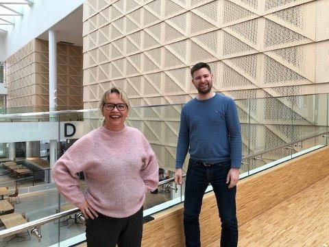 Styreleder Alexander Støvik Kjølstad kunne i dag presentere Anita Østby som konstituert daglig leder i Steinkjer næringsforum.