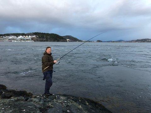 Eskil Røkke sverger til selvfisket juletorsk fra Beitstadfjorden.