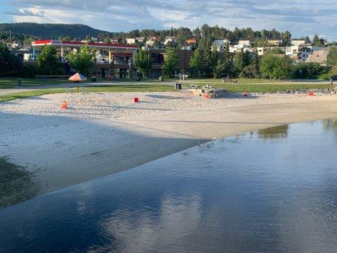 Stranda er åpnet igjen etter en periode med dårlig vannkvalitet