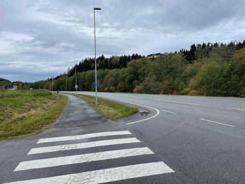 Uoversiktlig kryss: Frode Tiller Skjervø, regionsleder i Trygg Trafikk, sier at de er bekymret over sikten i krysset mellom Teglverksvegen og Henningvegen.