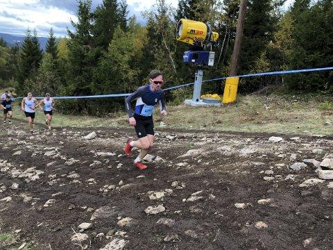 Imponerte: Alv S. Skjeldal i godt driv vant klassen sin klart og nr. 11 totalt av 3364 løpere. FOTO: Berger Il