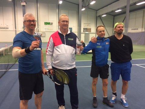 Double finalen: Stig Gunnar Jensen Tor Kristian Zinow , Espen Smedberg og Audun Kleven