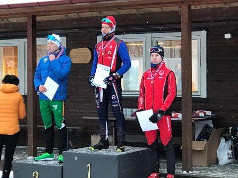 GJORDE DET BRA: Jørgen Dyrdahl kom på 2. plass i A-finalen etter photofinish.