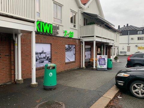 To næringsseksjoner i Storgaten 53 selges. Blant annet lokalet der Kiwi Bjørnstad holder til.