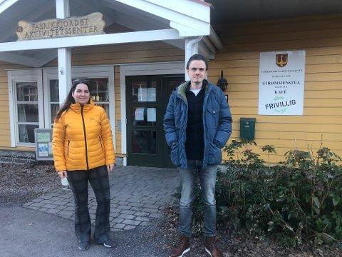 Heidi Smedsrud Hansen og Herman Ekle Lund. Her fra en tidligere anledning.