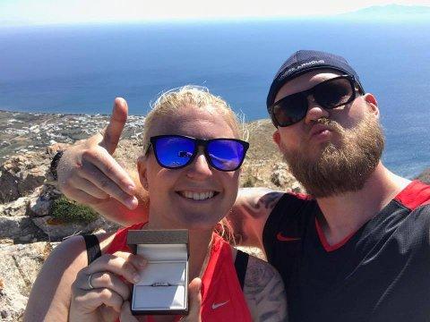 Christine Tansem Jørgensen og Peter Rungran skulle gi hverandre sitt i fjor sommer, men måtte utsette. Det ser ut til at det samme kan skje denne sommeren.