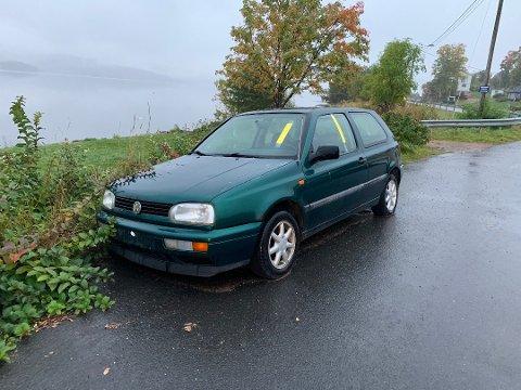 I september fikk denne bilen bot. Kort tid senere var den flyttet.