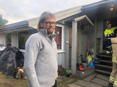 Huseier Hans Eivind Høien Nielsen.