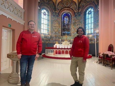 Andreas Nornes og Nina Howden i Svelvik menighet håper ikke deltakerne forsvinner etter det nye regelverket trådte i kraft.
