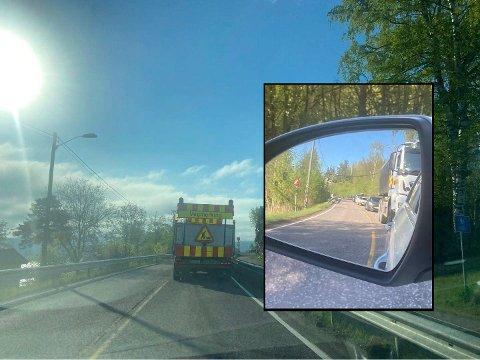 Onsdag morgen var kjøretøyene som merker veien ute på jobb.