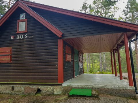 BOS-hytta ved Hellumvannet var senter for begivenhetene i pinsen da Berger og Svelvik O-lag arrangerte Koronacup.