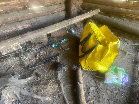 Dette er noe av søppelet Svelviksposten fant torsdag denne uka.