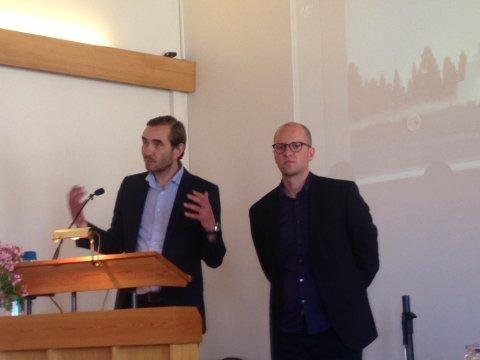 Arkitektene bak prosjektet er Espen Surnavik og Ådne Trodal.