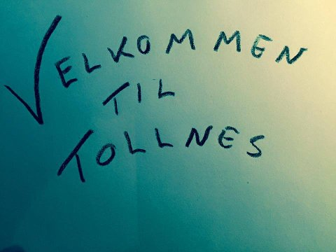 Innsamling: Lørdag er det mulig å levere brukt fotballutstyr på Tollnes. foto: tollnes fotball