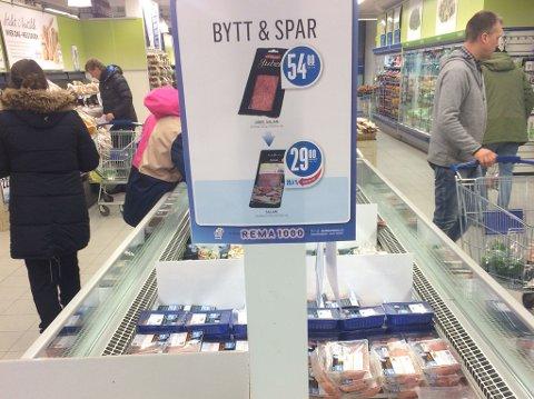 Rema 1000 varsler at de kommer til å endre kampanjen der Grilstad salami sammenliknes med butikkjedens egen merkevare Nordfjord.