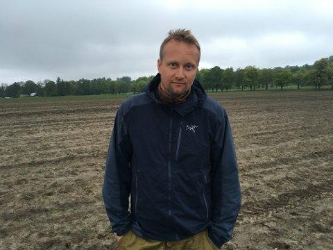 FORTVILET: Jordbærbonde Petter Borgestad