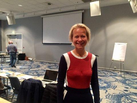 VEKST I TURISMEN: Det var hovedbudskapet fra reiselivsdirektør i Visit Telemark, Caroline Laurhammer, på Langesundskonferansen.