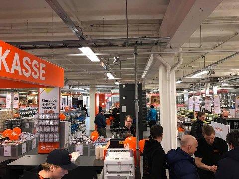 NY BUTIKK: Mot slutten av februar åpner det nye varehuset på Kjørbekk i Skien. Butikken får et salgsareal på 1000 kvadratmeter og vil gi jobb til ni personer.