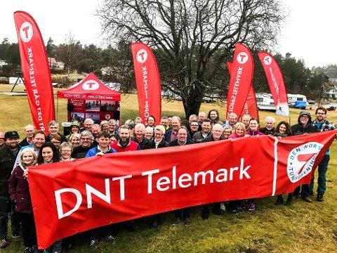 NYTT NAVN: Under årsmøtet fredag kveld endret Telemark turistforening navn til DNT Telemark.