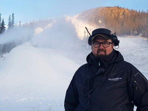 Ansvarlig driftsleder, Bjørn Håvard Tverberg.