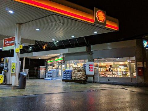 SLUTT: Snart vil du ikke se noen bensinstasjoner med kombinasjonen av Shell og 7-Eleven. Foto: Pål Nisja-Wilhelmsen