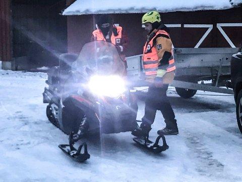 Vegard Kvernstuen og Jøran R. Edvardsen klare til nytt søk.