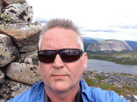 TJENER DÅRLIGST: Øystein Tveit i Kviteseid er den rådmannen som tjener minst i Telemark.