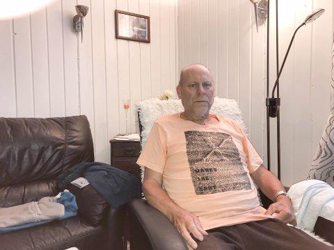 HJERTEOPERERT: Hjerteopererte Oddvar Johansen (62) må holde seg i ro en god stund fremover og får ikke lov til å vaske huset selv.