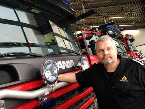 POPULÆR: - Rekordmange vil bli brannkonstabel i Skien, opplyser konstituert brannsjef, Henrik Brokke.