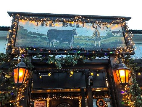 STØRRE: The Bull inn pub i Bø utvider lokalene med 45 kvadratmeter.