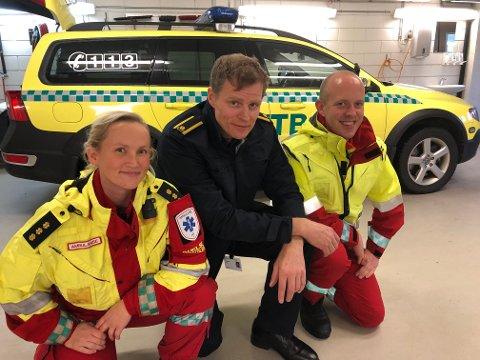 NY BIL: Akuttbilen er med på å styrke beredskapen i Telemark.