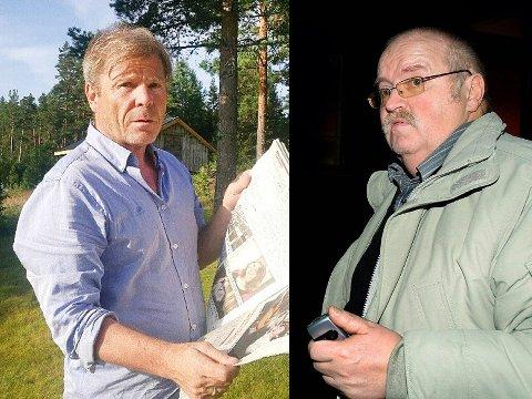 TRUSLER: Redaktør i Drangedalsposten, Jan Magne Stensrud, har anmeldt AP-politiker Magnus Straume for trusler og trakassering. Straume benekter at han har truet redaktøren. Her kan du høre lydopptakene.