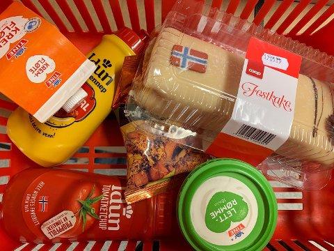 PRISKRIG PÅ 17. MAIVARER: Extra setter ned prisen på en rekke  produkter før nasjonaldagen. Foto: Halvor Ripegutu