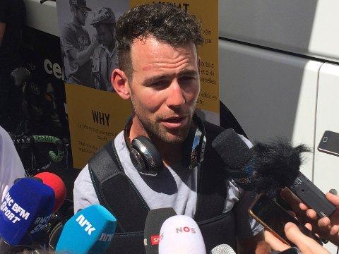 KOMMER: Mark Cavendish stiller til start når Tour of Norway kommer innom Telemark i neste uke.