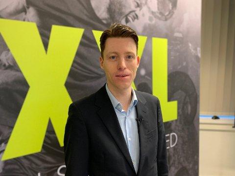 FRYKTER EMISJON: Danske Bank frykter at Tolle Grøterud og XXL må hente penger. Foto: Halvor Ripegutu