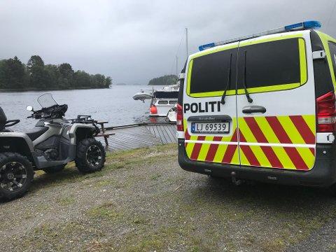 SAVNET: En person er savnet etter båttur fra Ulefoss brygge natt til lørdag. Store letemannskaper er ute for å lete etter personen.