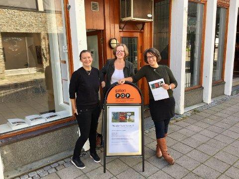 POPULÆRT: Anette Skaugen Guldager (t.h) konstaterer at kommunens eget gallertilbud har blitt tatt godt imot. Nå er det fullbooket ut året.