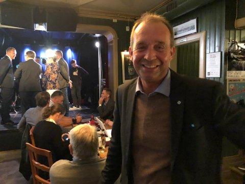 TIL TOPPS: Sps Trond Ballestad ligger an til å bli varaordfører, men det kan også bli aktuelt å forhandle om ordførervervet i en borgerlig koalisjon. At han er gift med Skien kommunes eiendomssjef, trenger ikke bety et problem, sier jusprofessor.