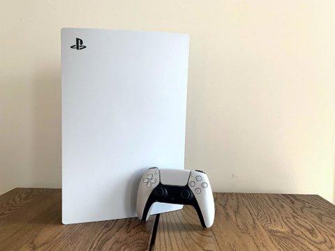 ETTERTRAKTET: Playstation 5 Foto: Katinka Sletten / Nettavisen