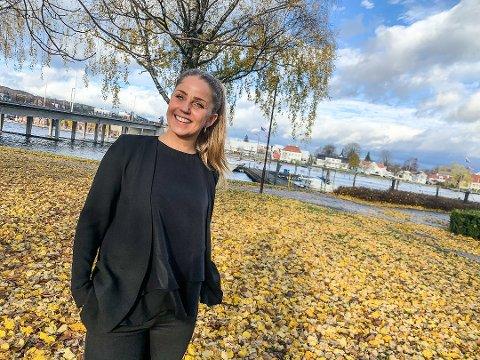 OPTIMIST: Cathrine Noor i Krogsveen tror at boligmarkedet kommer til å være hett neste år også.