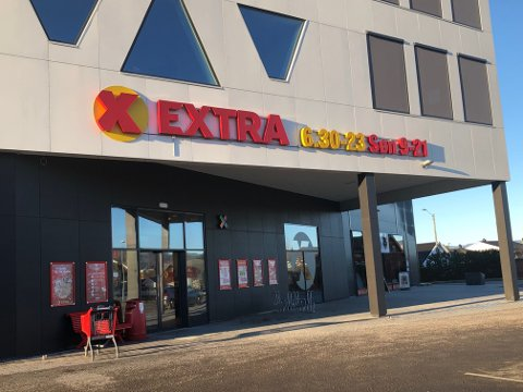 Åpent: Coop Extra Gråtenmoen holder åpent andre og tredje juledag.