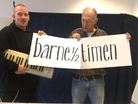 PÅ NETT: I dag klokken 14 kan du se Tobias Vik og Lars Viks forestilling via Visit Telemarks facebookside.