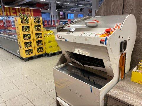 SMITTEVERN: En skiensmann har nå kontaktet kommunen med bekymringer rundt brødskjæremaskiner i matbutikker.
