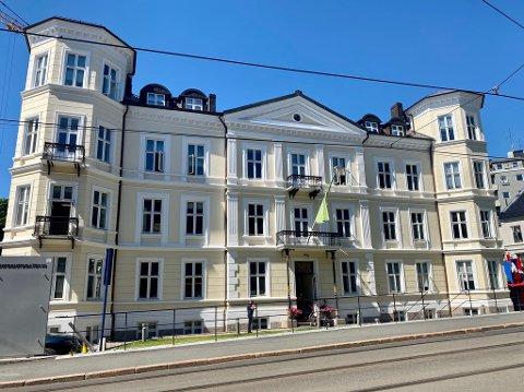 ROYALT: Eiendommen i Inkognitogaten 33 i Oslo er virkelig praktfull mener investoren Emil Eriksrød.