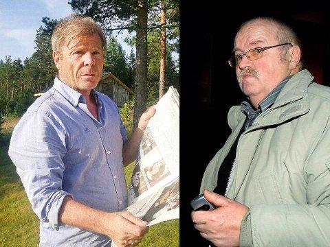 MØTES: Redaktør Jan Magne Stensrud og Ap-politiker Magnus Straume møtes i Forliksrådet.