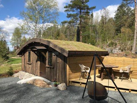 TORV: Skal du overnatte i denne hytta, må du gjøre deg fortjent til det først.